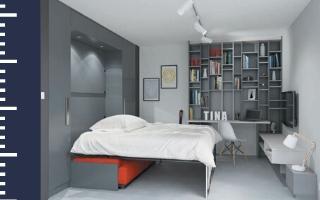 Pièce à usages multiples : Pensez au lit rabattable !