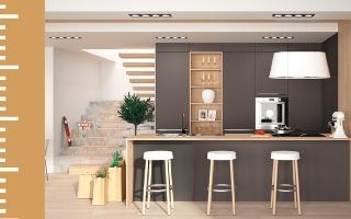 Cuisine en U, cuisine en L, cuisine en I : Des cuisines Made in France, sur-mesure et réalisées avec votre budget !