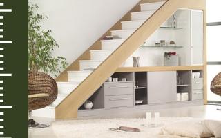 Aménager un sous-escalier en espace de rangement design